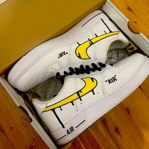 TODDLER SIZE - Nike Offwhite Airforce